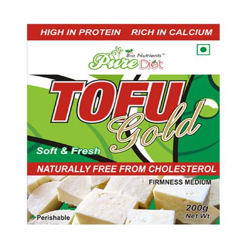 Pure Diet Tofu Gold (Soft & Fresh) 200gm Pack