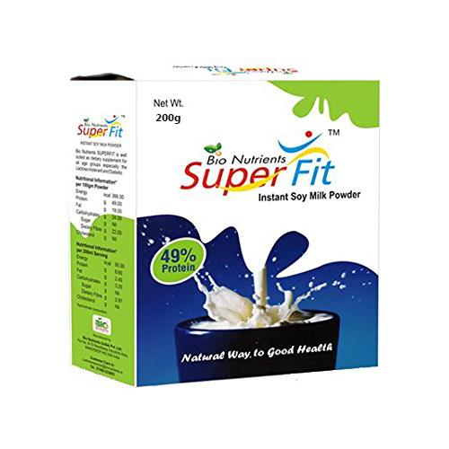 Super Fit Instant Soy Milk Powder 200gm Pack
